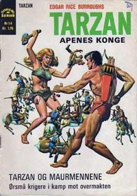 Cover Thumbnail for Tarzan [Jungelserien] (Illustrerte Klassikere / Williams Forlag, 1965 series) #54