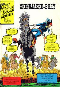 Cover Thumbnail for Ranchserien (Illustrerte Klassikere / Williams Forlag, 1968 series) #71