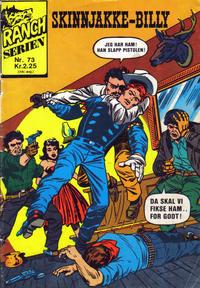 Cover Thumbnail for Ranchserien (Illustrerte Klassikere / Williams Forlag, 1968 series) #73
