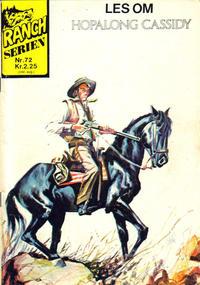 Cover Thumbnail for Ranchserien (Illustrerte Klassikere / Williams Forlag, 1968 series) #72