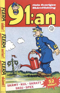Cover Thumbnail for 91:an (Åhlén & Åkerlunds, 1956 series) #7/1962