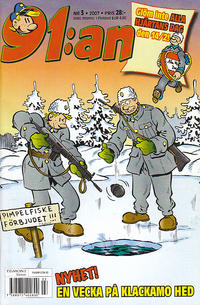 Cover Thumbnail for 91:an (Egmont, 1997 series) #3/2007