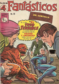 Cover Thumbnail for Los 4 Fantásticos (Editora de Periódicos La Prensa S.C.L., 1962 series) #58