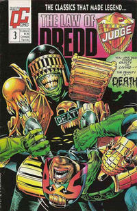 Cover Thumbnail for The Law of Dredd (Fleetway/Quality, 1988 series) #3