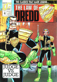 Cover Thumbnail for The Law of Dredd (Fleetway/Quality, 1988 series) #4