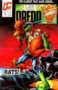 Cover Thumbnail for The Law of Dredd (Fleetway/Quality, 1988 series) #5