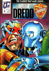 Cover Thumbnail for The Law of Dredd (Fleetway/Quality, 1988 series) #6