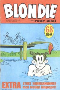 Cover Thumbnail for Blondie (Semic, 1963 series) #7/1971