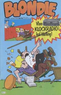 Cover for Blondie (Semic, 1963 series) #13/1978