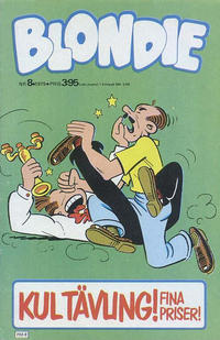 Cover Thumbnail for Blondie (Semic, 1963 series) #8/1979