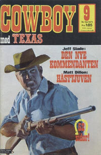 Cover for Cowboy (Semic, 1970 series) #9/1971