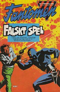 Cover Thumbnail for Fantomen (Semic, 1963 series) #5/1979