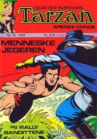 Cover Thumbnail for Tarzan [Jungelserien] (Illustrerte Klassikere / Williams Forlag, 1965 series) #19/1974