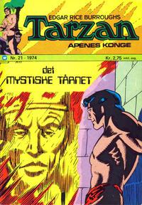 Cover Thumbnail for Tarzan [Jungelserien] (Illustrerte Klassikere / Williams Forlag, 1965 series) #21/1974