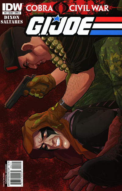 Cover for G.I. Joe (IDW, 2011 series) #2 [Cover RI]