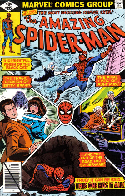 Cover for The Amazing Spider-Man (Marvel, 1963 series) #195 [Newsstand Edition]