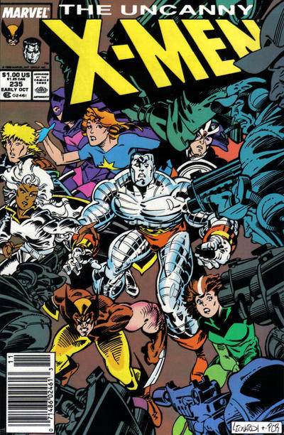Cover for The Uncanny X-Men (Marvel, 1981 series) #235 [Newsstand]