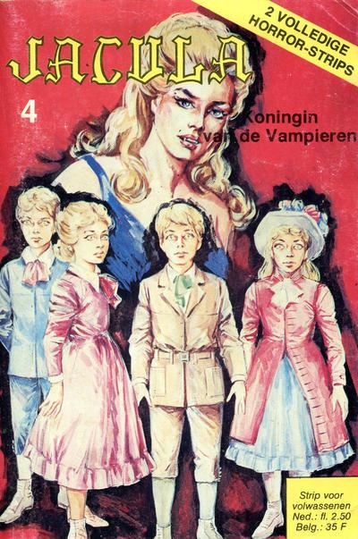 Cover for Jacula (De Vrijbuiter; De Schorpioen, 1973 series) #4