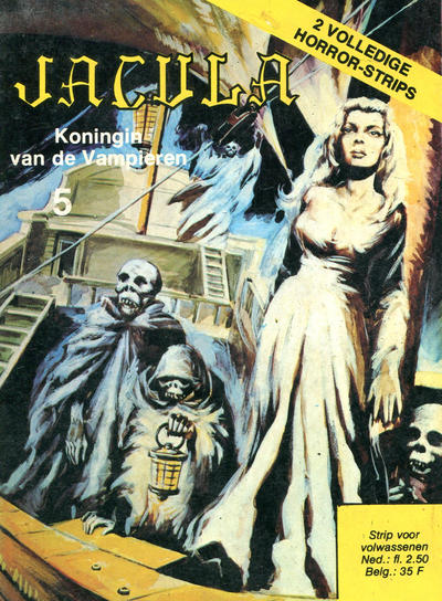 Cover for Jacula (De Vrijbuiter; De Schorpioen, 1973 series) #5