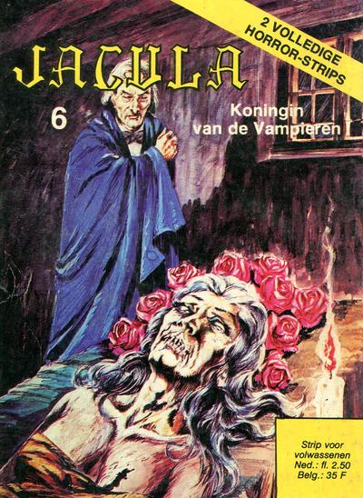 Cover for Jacula (De Vrijbuiter; De Schorpioen, 1973 series) #6