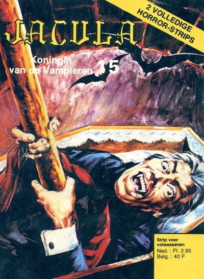Cover for Jacula (De Vrijbuiter; De Schorpioen, 1973 series) #15