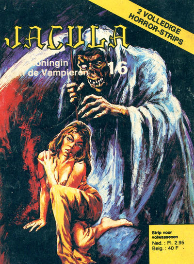 Cover for Jacula (De Vrijbuiter; De Schorpioen, 1973 series) #16