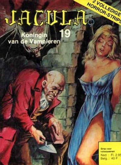 Cover for Jacula (De Vrijbuiter; De Schorpioen, 1973 series) #19