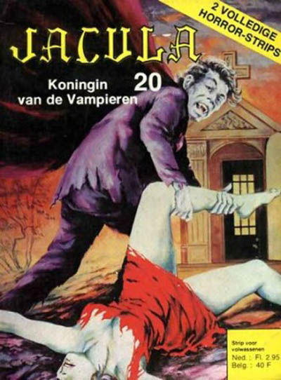 Cover for Jacula (De Vrijbuiter; De Schorpioen, 1973 series) #20