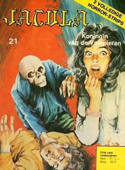 Cover for Jacula (De Vrijbuiter; De Schorpioen, 1973 series) #21