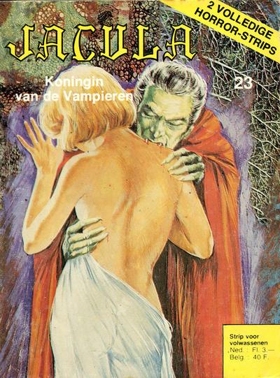 Cover for Jacula (De Vrijbuiter; De Schorpioen, 1973 series) #23