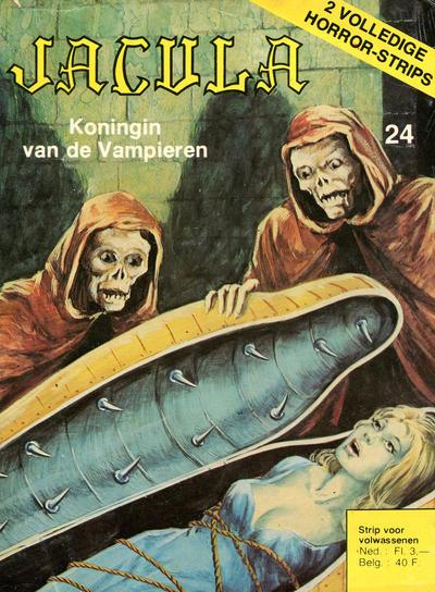 Cover for Jacula (De Vrijbuiter; De Schorpioen, 1973 series) #24