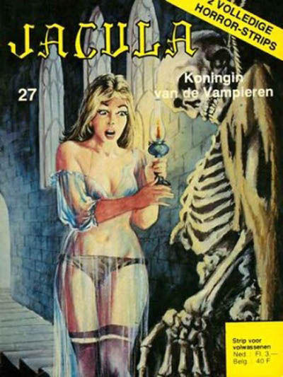 Cover for Jacula (De Vrijbuiter; De Schorpioen, 1973 series) #27