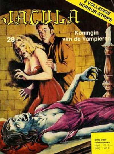 Cover for Jacula (De Vrijbuiter; De Schorpioen, 1973 series) #28