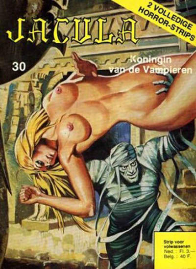 Cover for Jacula (De Vrijbuiter; De Schorpioen, 1973 series) #30