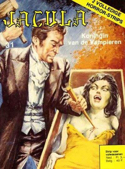 Cover for Jacula (De Vrijbuiter; De Schorpioen, 1973 series) #31