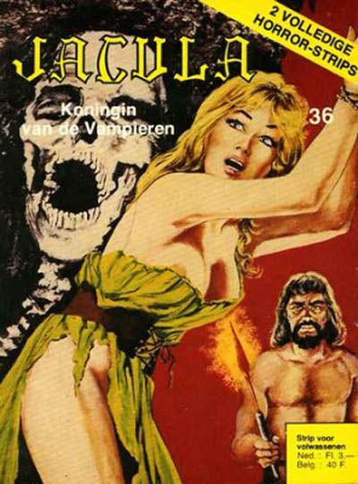 Cover for Jacula (De Vrijbuiter; De Schorpioen, 1973 series) #36