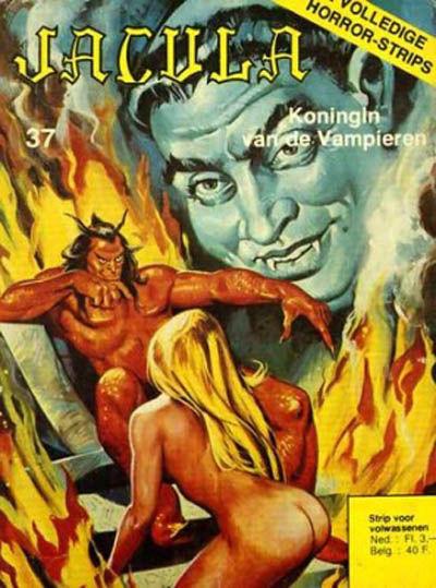 Cover for Jacula (De Vrijbuiter; De Schorpioen, 1973 series) #37