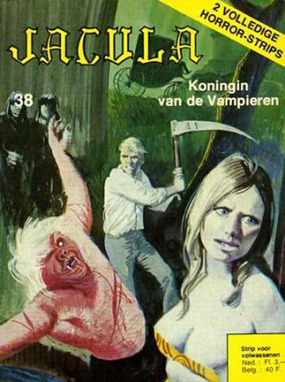 Cover for Jacula (De Vrijbuiter; De Schorpioen, 1973 series) #38