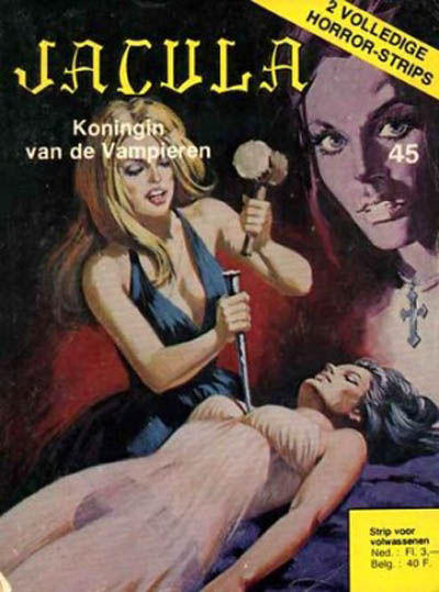 Cover for Jacula (De Vrijbuiter; De Schorpioen, 1973 series) #45