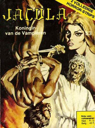 Cover for Jacula (De Vrijbuiter; De Schorpioen, 1973 series) #53