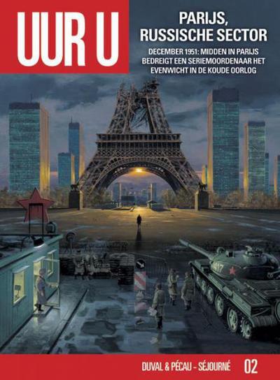 Cover for Uur U (Silvester, 2010 series) #2 - Parijs, Russische sector