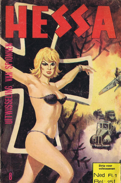 Cover for Hessa (De Vrijbuiter; De Schorpioen, 1971 series) #8
