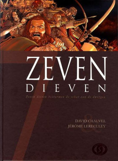 Cover for Zeven (Silvester, 2007 series) #2 - Zeven dieven