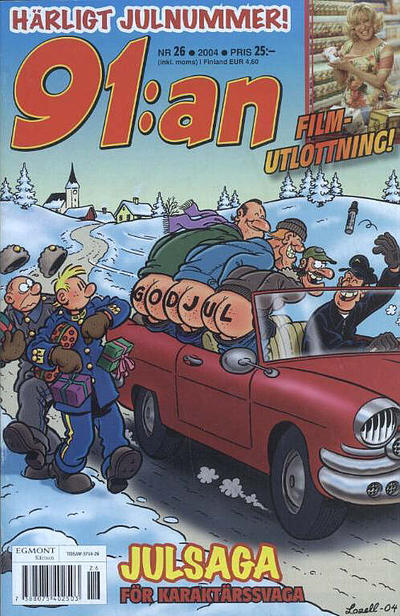 Cover for 91:an (Egmont, 1997 series) #26/2004