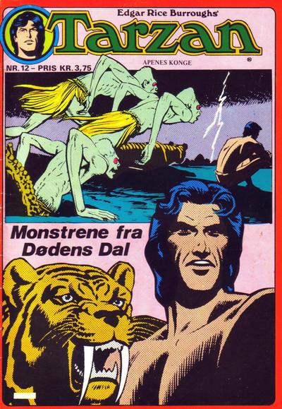 Cover for Tarzan (Atlantic Forlag, 1977 series) #12/1977