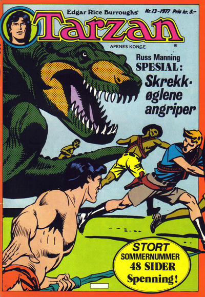 Cover for Tarzan (Atlantic Forlag, 1977 series) #13/1977