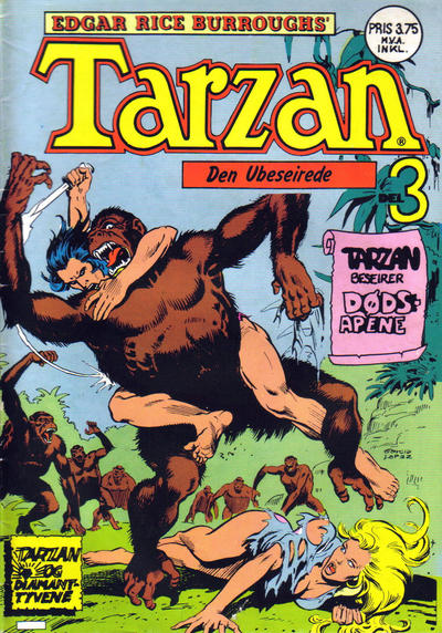 Cover for Tarzan (Atlantic Forlag, 1977 series) #19/1977