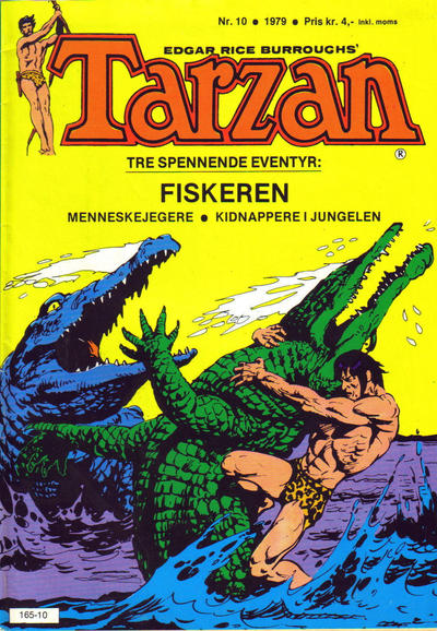 Cover for Tarzan (Atlantic Forlag, 1977 series) #10/1979
