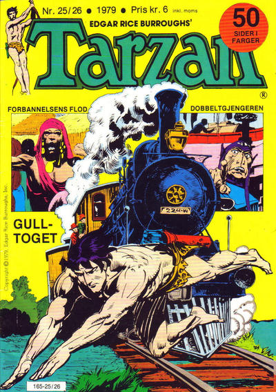 Cover for Tarzan (Atlantic Forlag, 1977 series) #25-26/1979