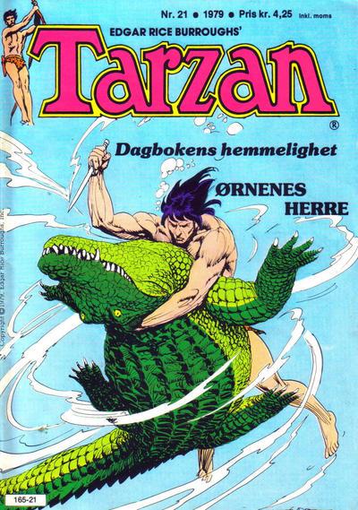 Cover for Tarzan (Atlantic Forlag, 1977 series) #21/1979
